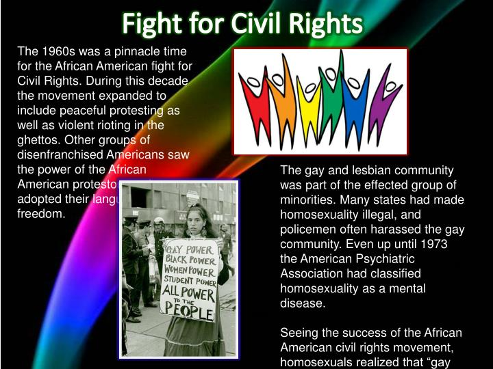 Fight for civil rights