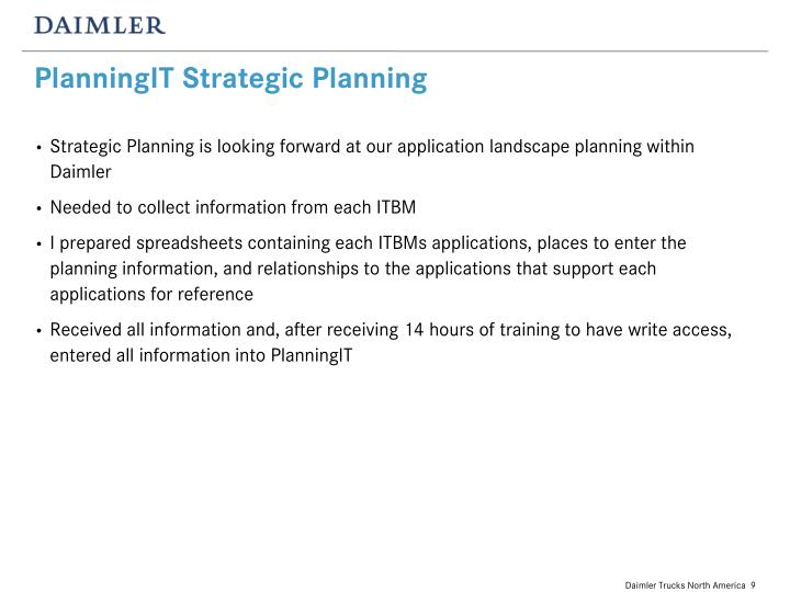 PlanningIT Strategic Planning