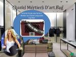 chanel mertiers d art bag