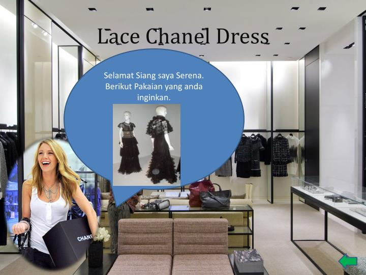 Lace Chanel Dress