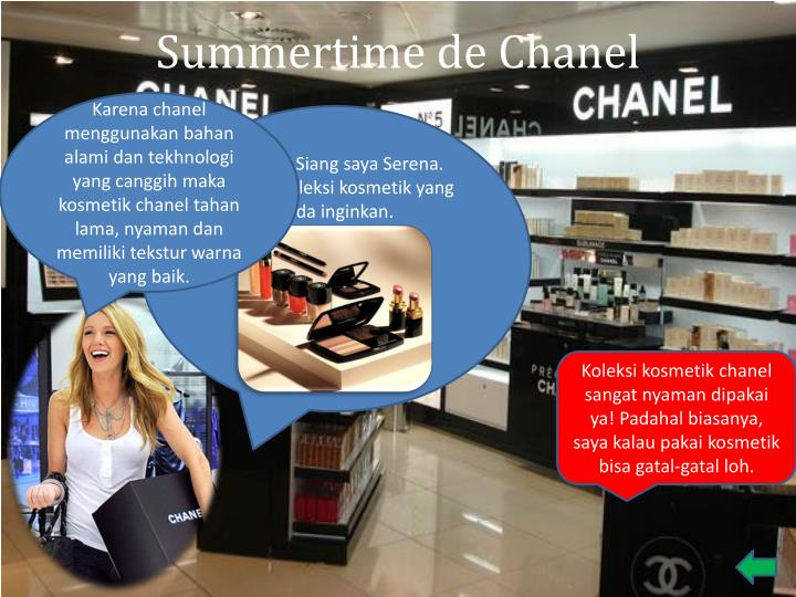 Summertime de Chanel