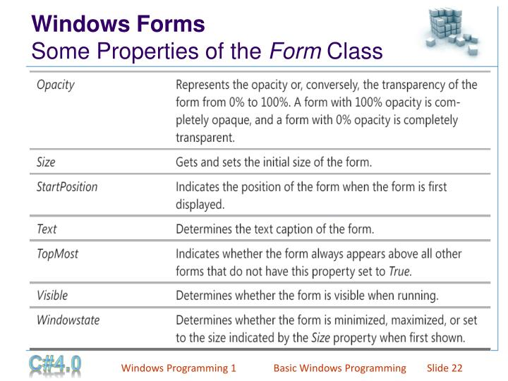 Windows Forms