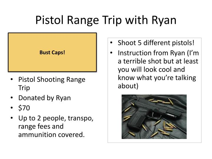 Pistol Range Trip with Ryan