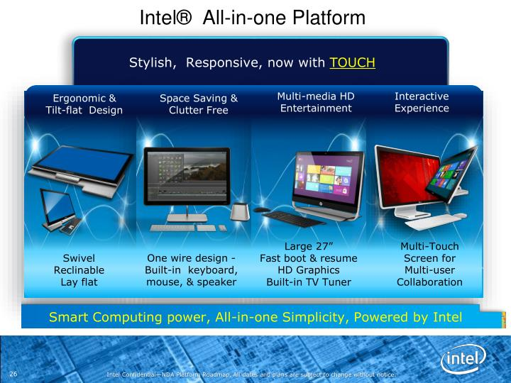 Intel®  All-in-one Platform