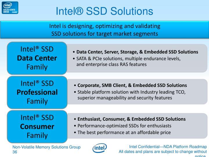 Intel® SSD Solutions