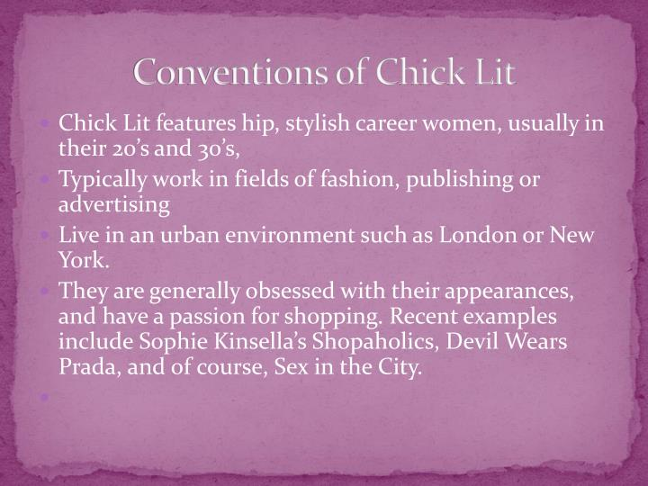 Conventions of Chick Lit