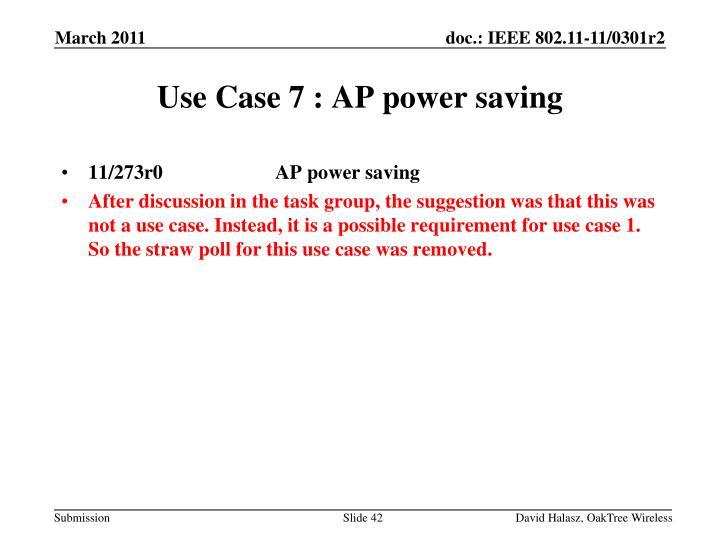 11/273r0              AP power