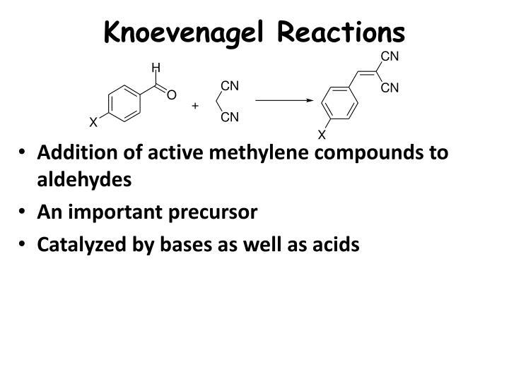 Knoevenagel Reactions