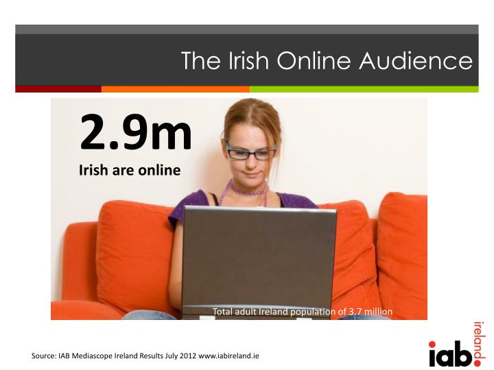 The Irish Online Audience