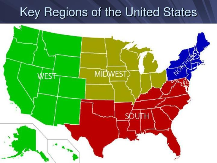 Key Regions of the United States