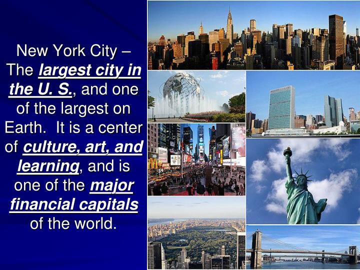 New York City –