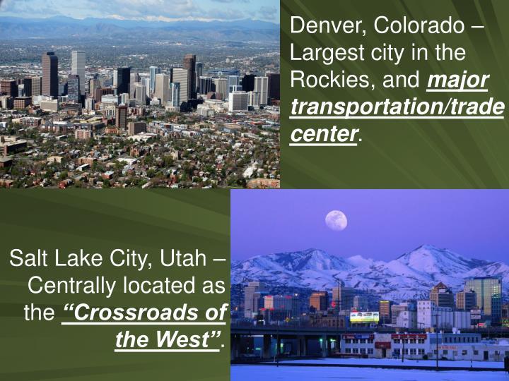 Denver, Colorado –