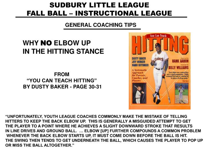 SUDBURY LITTLE LEAGUE