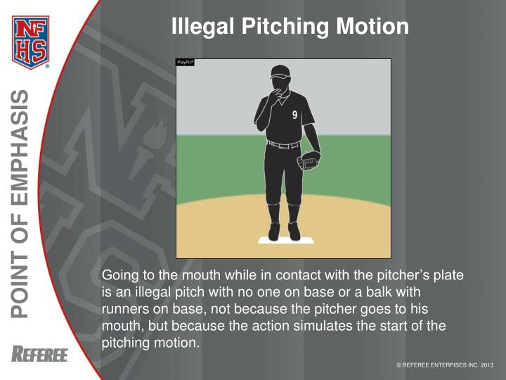 Illegal Pitching Motion