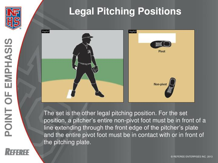 Legal Pitching Positions
