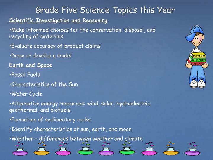 Scientific Investigation and Reasoning