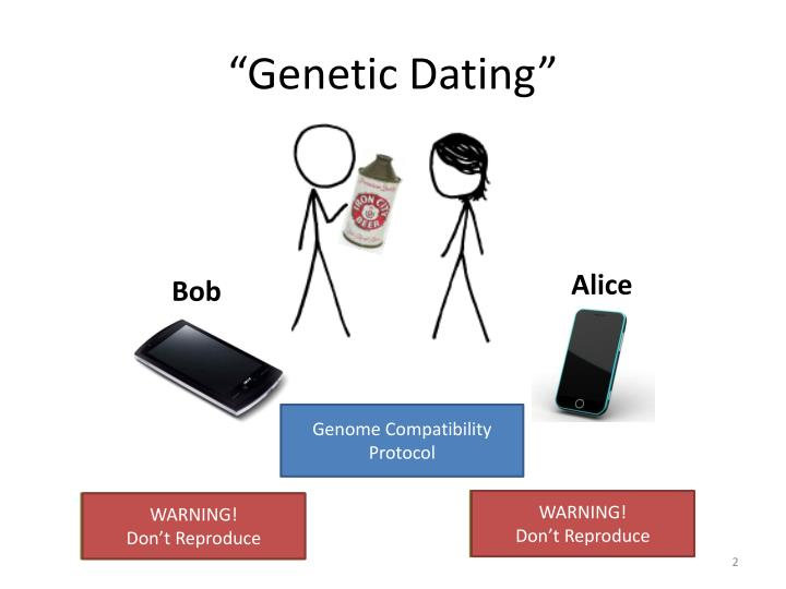 Genetic dating