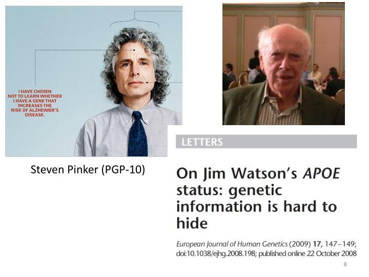 Steven Pinker (PGP-10)