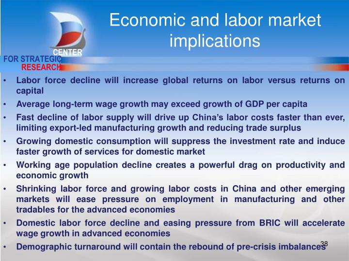 Economic and labor market implications