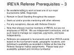 ireva referee prerequisites 3