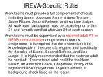 ireva specific rules8