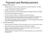 payment and reimbursement1