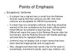 points of emphasis2