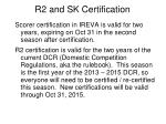 r2 and sk certification2