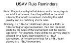 usav rule reminders4