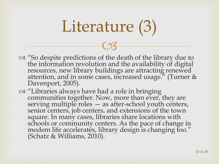 Literature (3)
