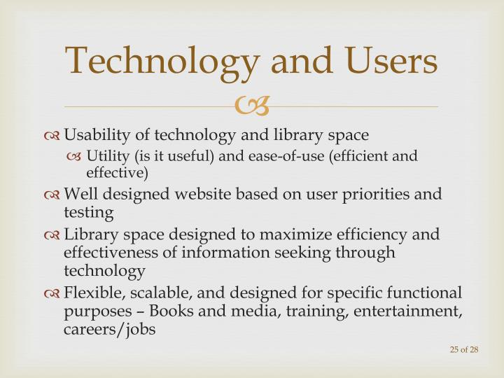 Technology and Users
