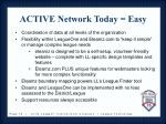 active network today easy