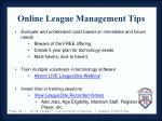 online league management tips1