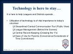 technology is here to stay