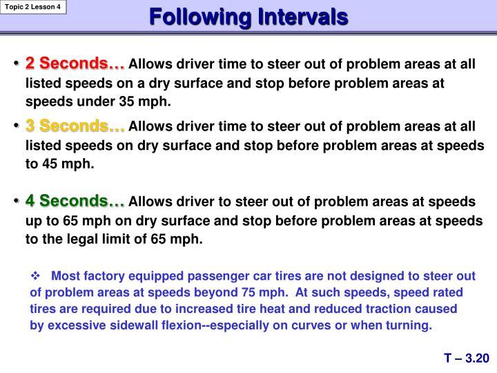 Following Intervals