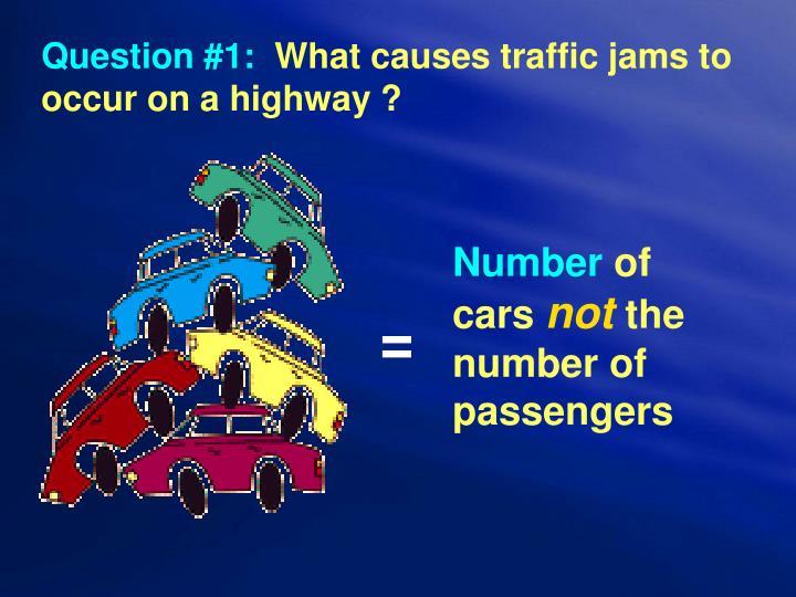 Question #1: