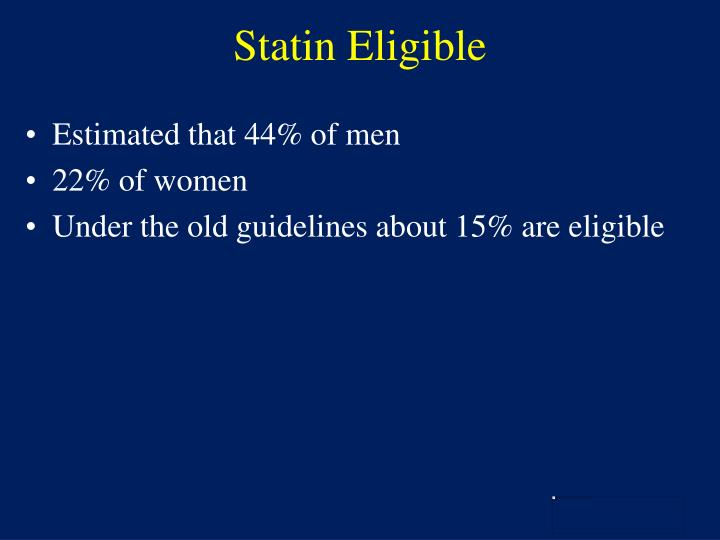 Statin Eligible