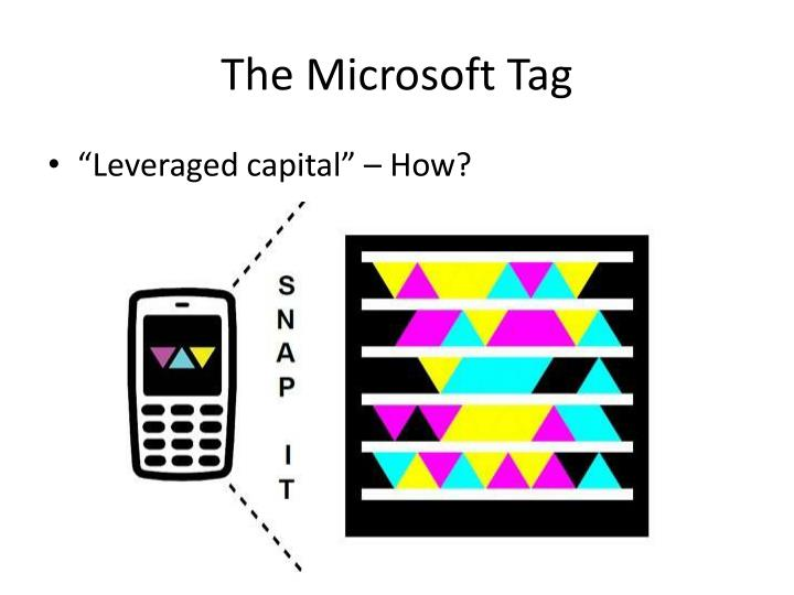 The Microsoft Tag