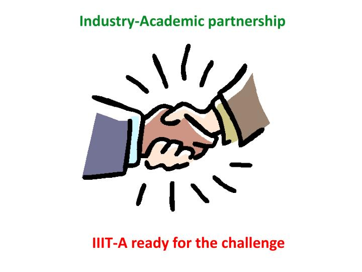 Industry-Academic partnership