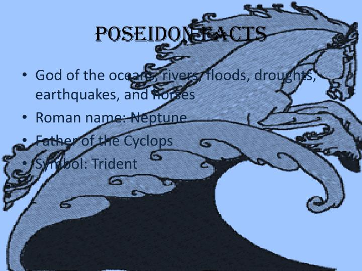 Poseidon Facts