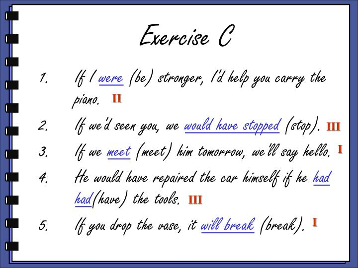 Exercise C