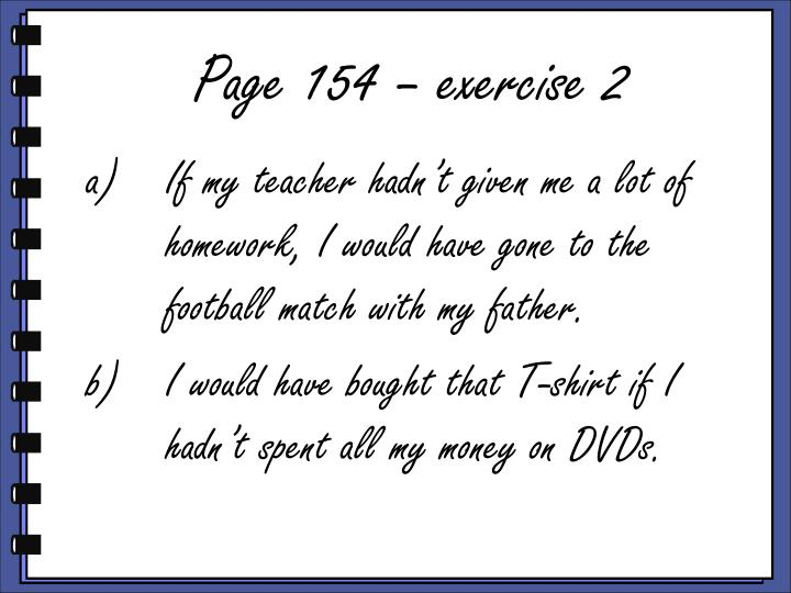 Page 154 – exercise 2