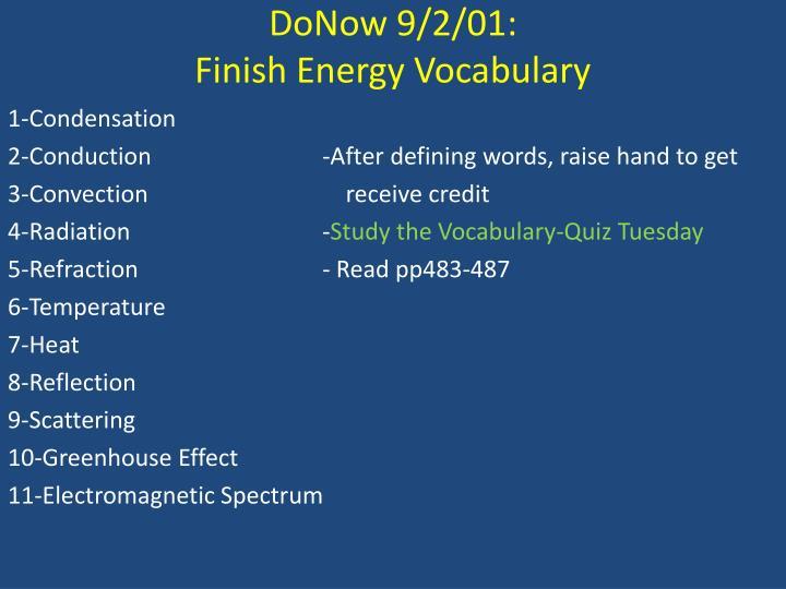 DoNow
