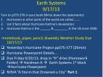 earth systems 9 17 13