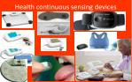 health continuous sensing devices