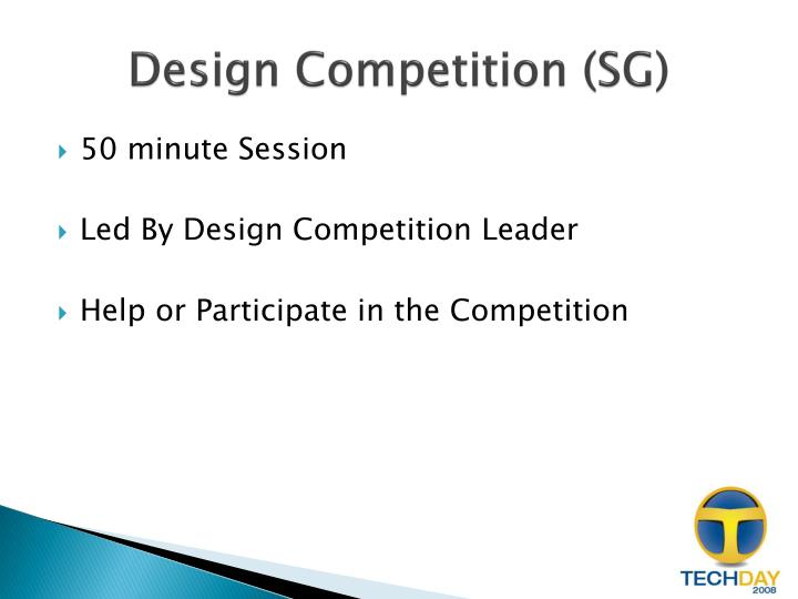 Design Competition (SG)