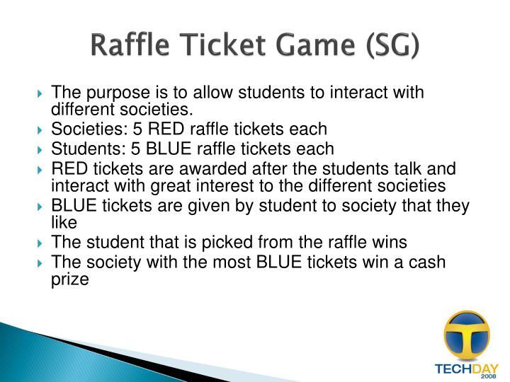 Raffle Ticket Game (SG)