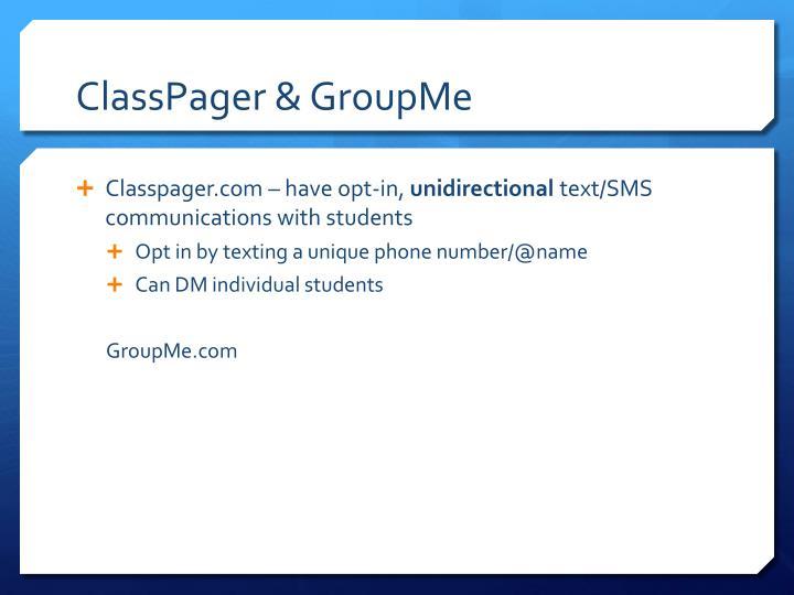 ClassPager
