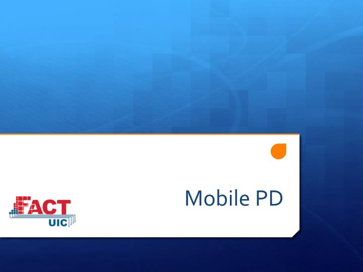 Mobile PD