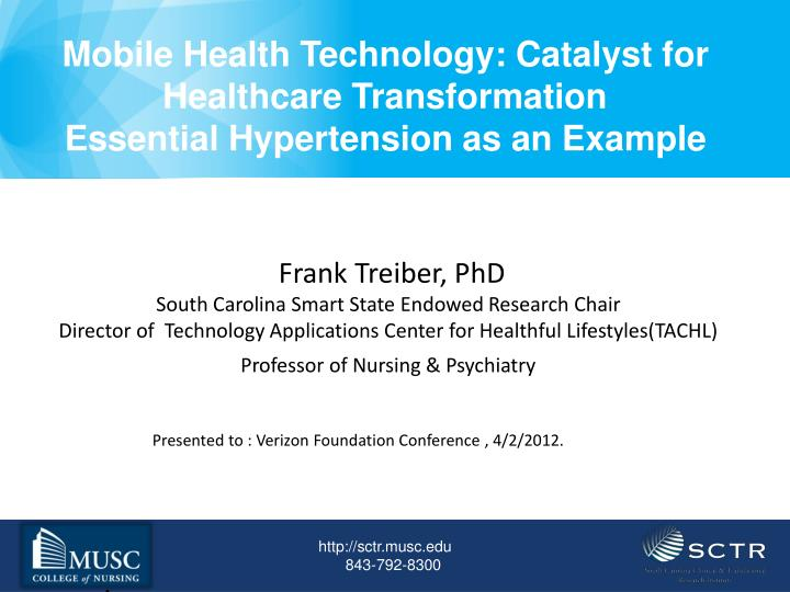Mobile Health Technology: Catalyst for Healthcare Transformation